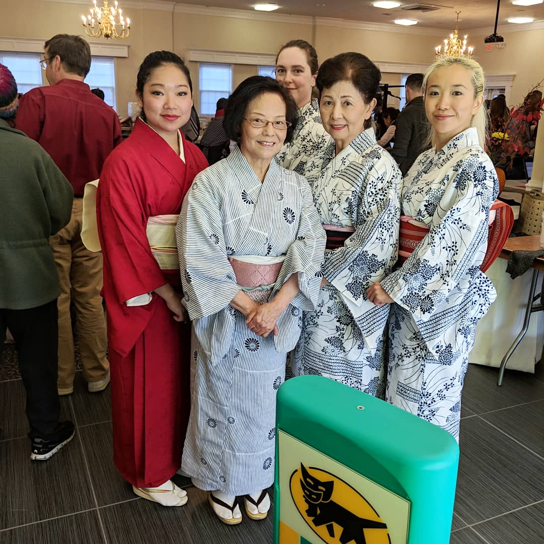 Sensei and Students at JaCareFund Event